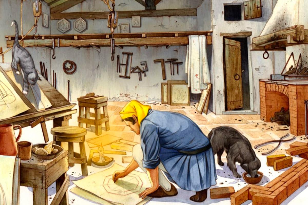 Il genio della Cupola - Brunelleschi progetta nel suo laboratorio