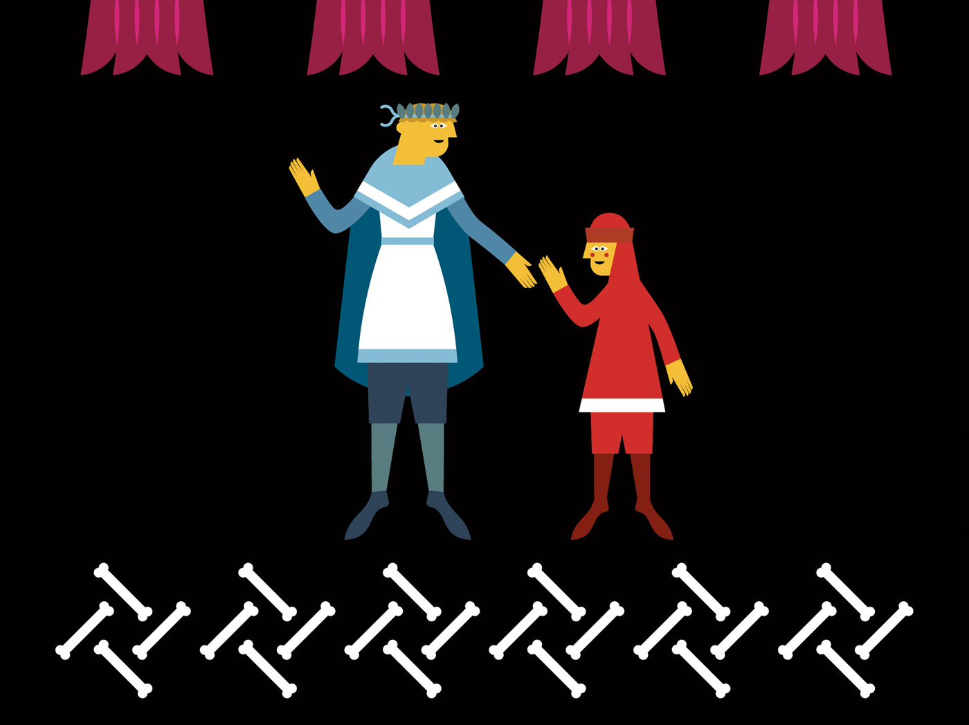 Dante ai bambini - Incontro con Virgilio