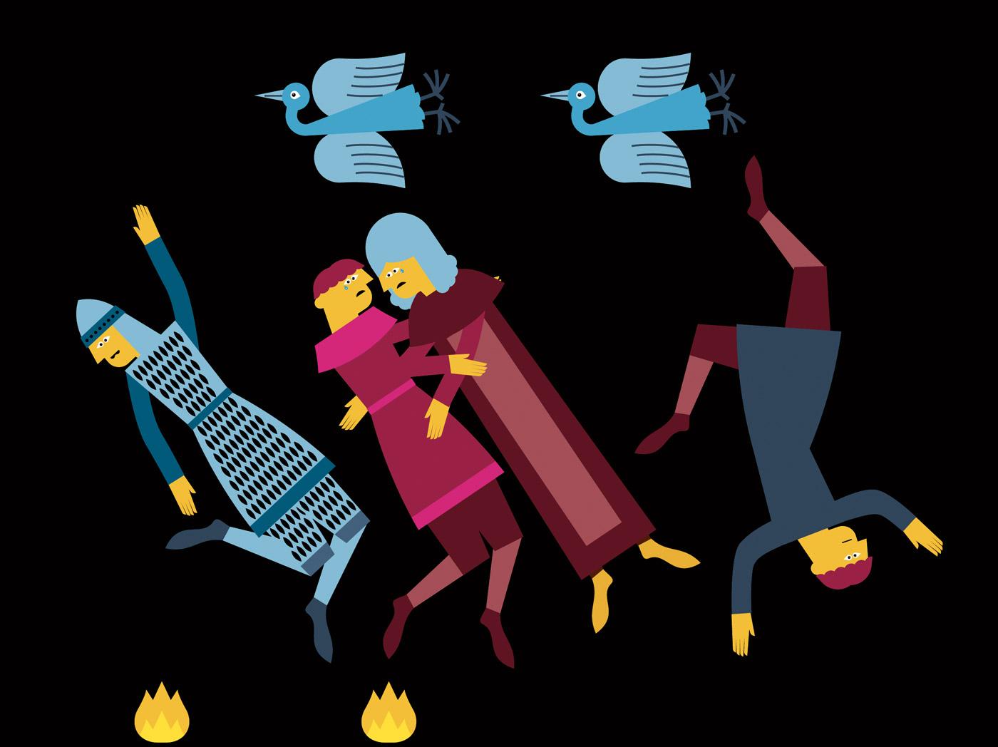 Dante ai bambini - Paolo e Francesca