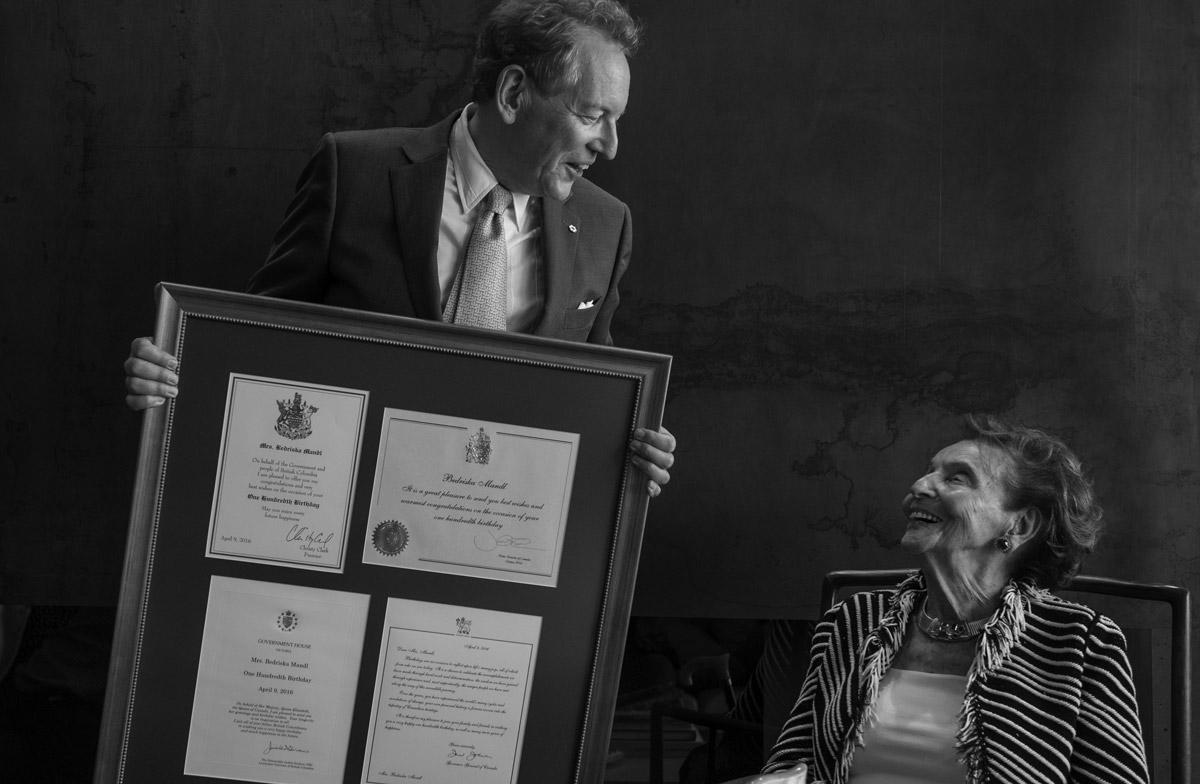 Celebrazione dei cento anni di Bedriska alla presenza del primo ministro canadese Justin Trudeau