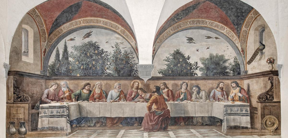 Ghirlandaio, Ultima cena - chiesa di Ognissanti