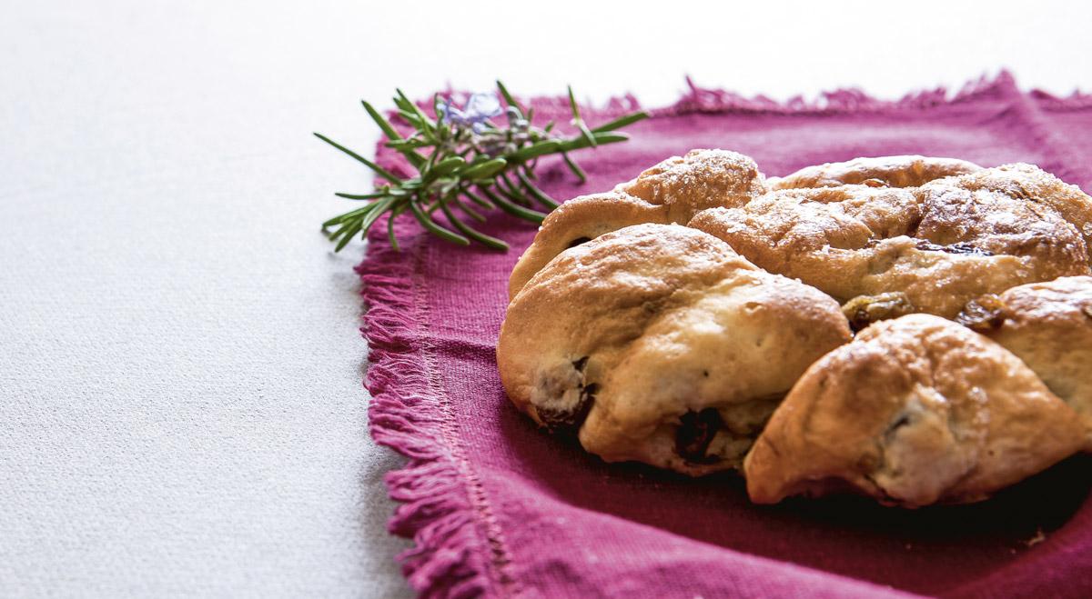 Pan di ramerino - tipica ricetta del Giovedì Santo