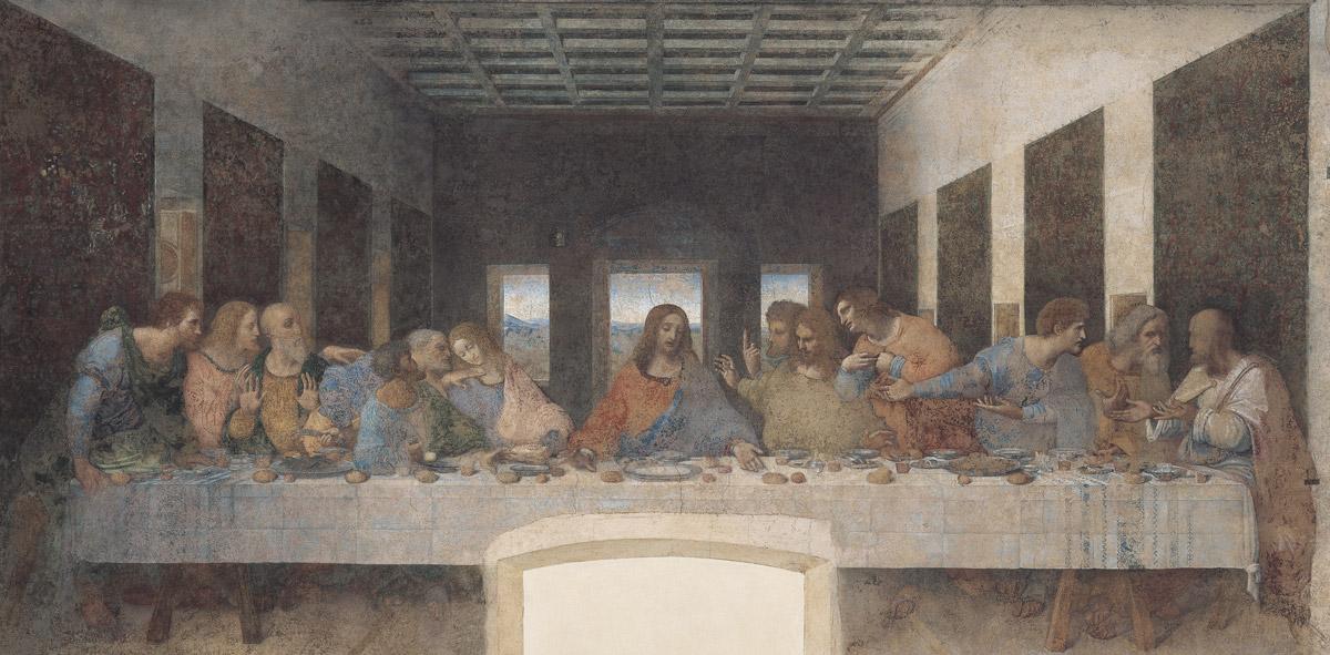 Leonardo, Ultima cena, 1494-1498 circa