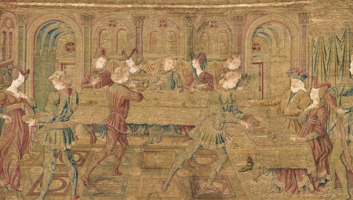 Antonio del Pollaiolo, Banchetto di Erode, 1465-1487 circa