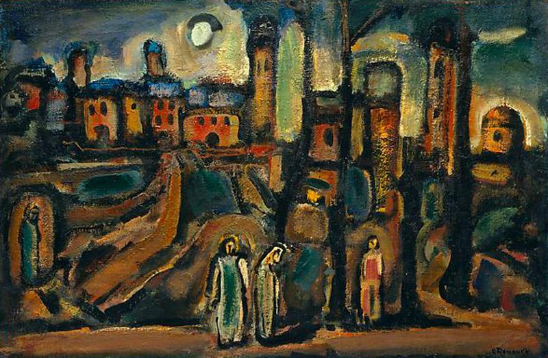 Georges Rouault - Crepuscolo - 1937 New York Metropolitan Museumof Art
