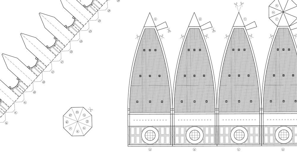 Modello della cupola del Brunelleschi in scala 1:450 da ritagliare e incollare